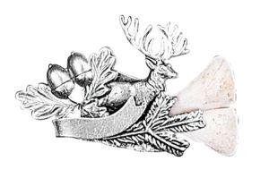 Odznak jelen s řezáky