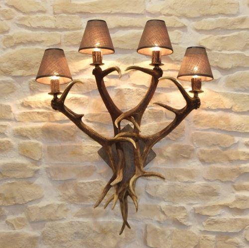 Lampa nástěnná 4 svíčky