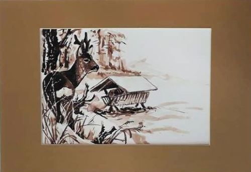 Kresba Vlastimila Pánka - reprodukce 3